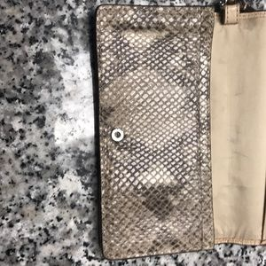 Coach Bags - Authentic coach snakeskin wristlet